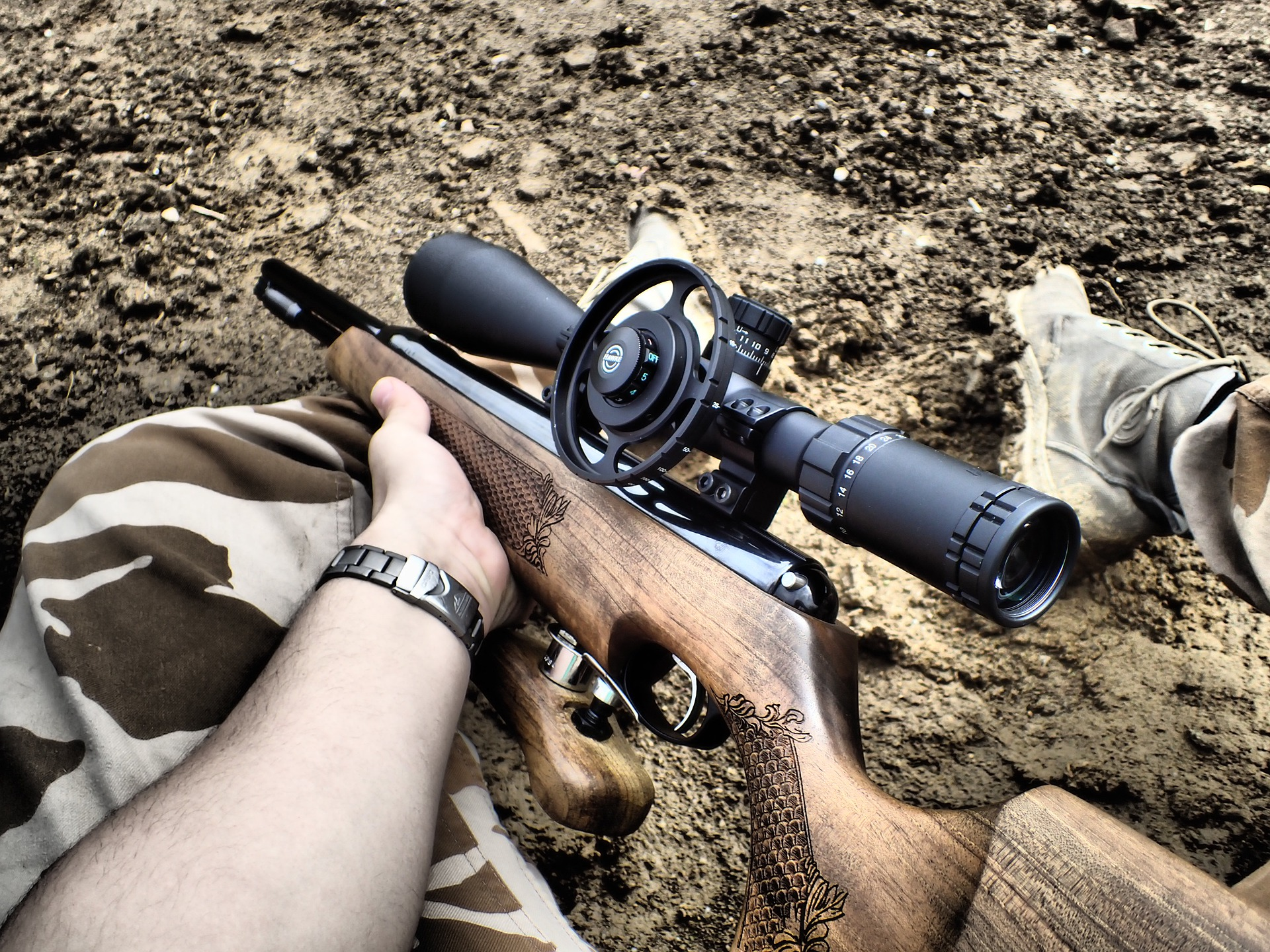 rifle scope for elk hunting
